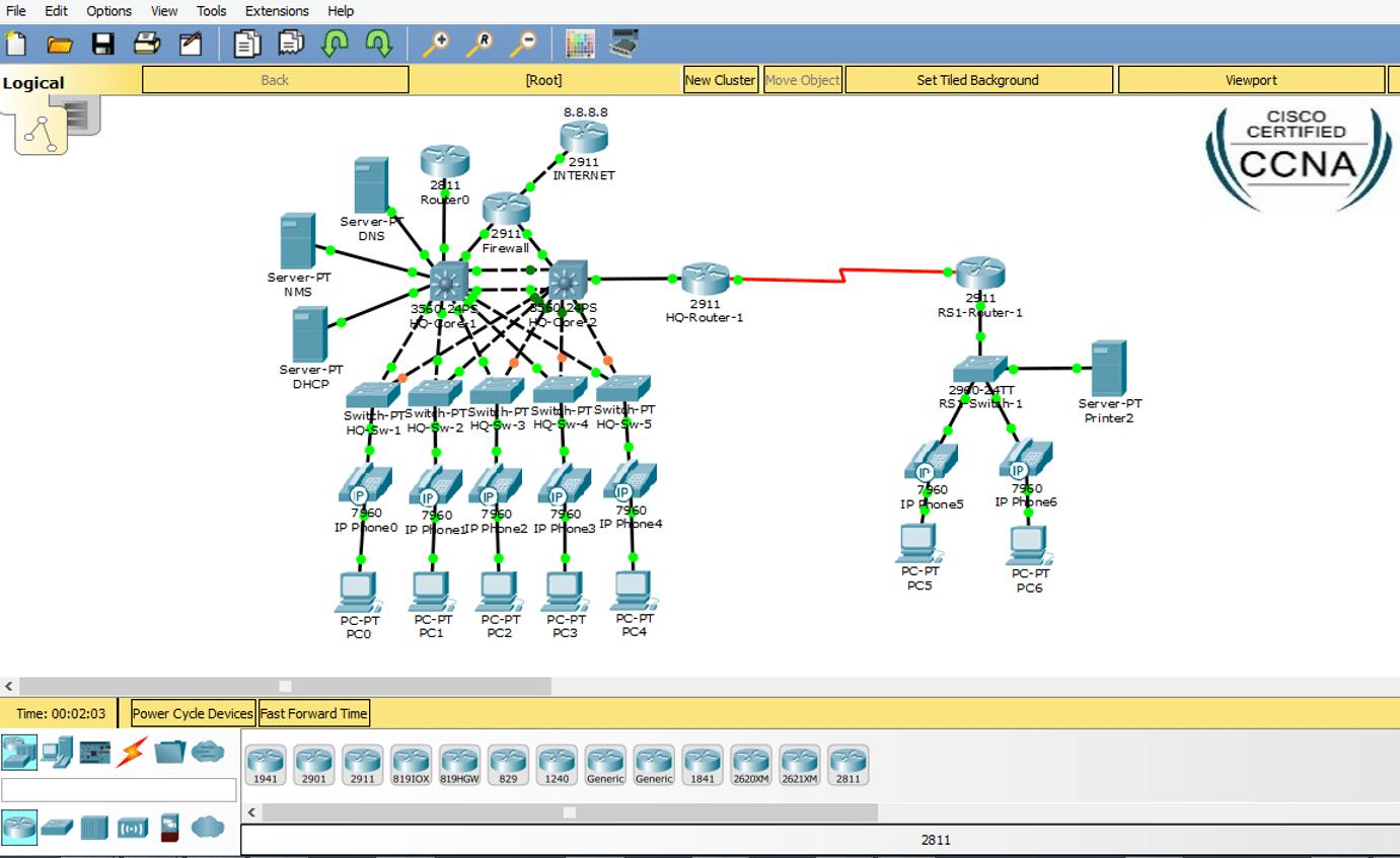 برنامج cisco packet tracer (64-bit) للكمبيوتر