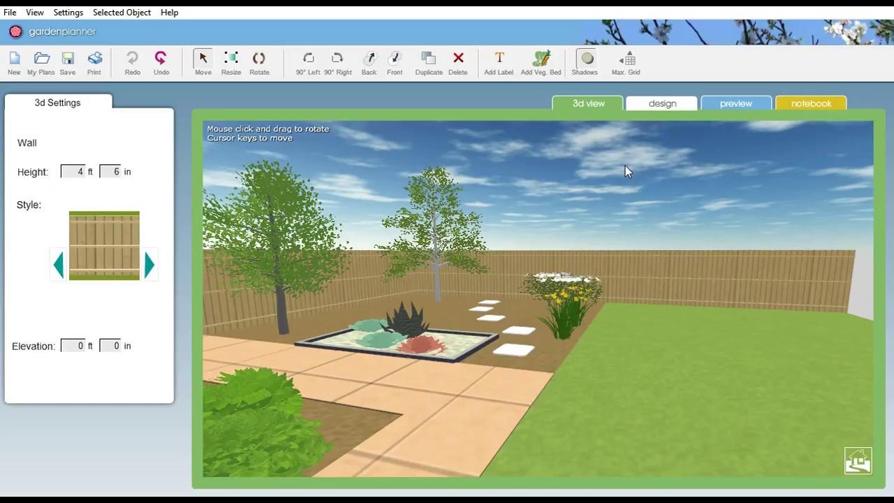 تحميل برنامج Garden Planner = للكمبيوتر (مجانا) on Backyard Landscape Planner id=44861